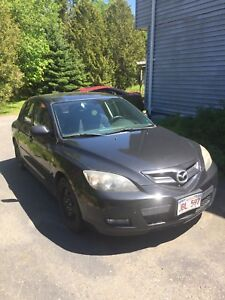 2008 Mazda 3 sport edition *Needs transmission repair*