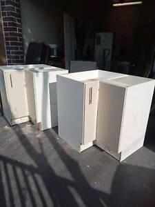 2 kitchen corner cabinets