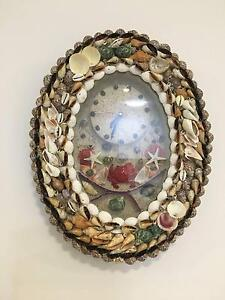 Wall Clocks with natural shells $39 only Zillmere Brisbane North East Preview