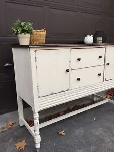 Gorgeous refinished buffet