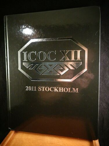 International Conference on Oriental Carpets  XII - Stockholm 2011 HC Book