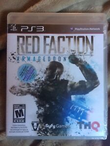 Ps3 Red Faction new never opened