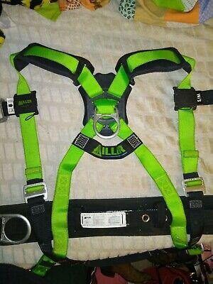 Honeywell Miller 650cn-bpsmgn Contractor Grade Body Harness Belt Sm