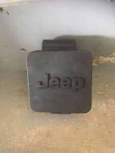 Jeep rubber cap for trailer hitch