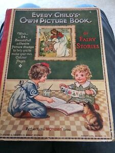 Raphael Tuck Vintage Childrens Story Picture Book