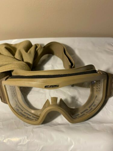 ESS Profile Series Goggles Ballistic Military Tactical Coyote