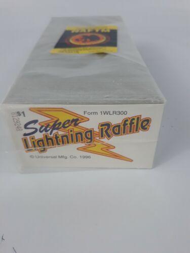 SUPER LIGHTNING RAFFLE PULL TABS  - 150 COUNT @ $ 1 -