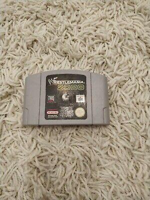 WWF Wrestlemania 2000 Nintendo 64 N64, V.RARE
