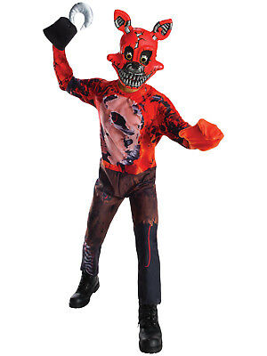 Five Nights At Freddy's - Nightmare Foxy Child Costume](Nightmare Costume)