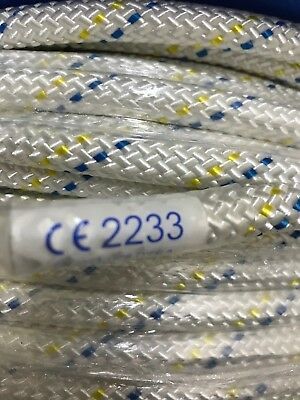 Semi Static LSK Rope, EN 1891 10.5mm, Tree Surgery, Sailing rope, Caving rope,