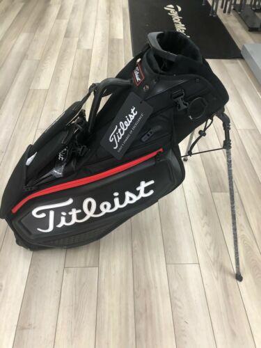 Titleist Jet Black Premium Golf Sand Bag-TB20SXSF***Titleist Premium Stand Bag**