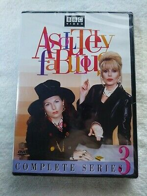 Absolutely Fabulous 1995 - Complete Series 3 - Brand New Factory Sealed BBC DVD