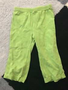 Green pants size 24 months