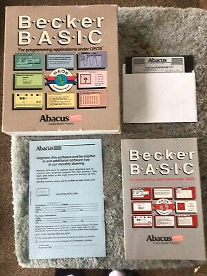 Becker BASIC for GEOS by Abacus for Commodore 64