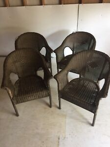 Wicket Patio chairs -Aluminum