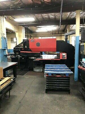 33 Ton Amada Pega 345 King Cnc Turret Punch Press