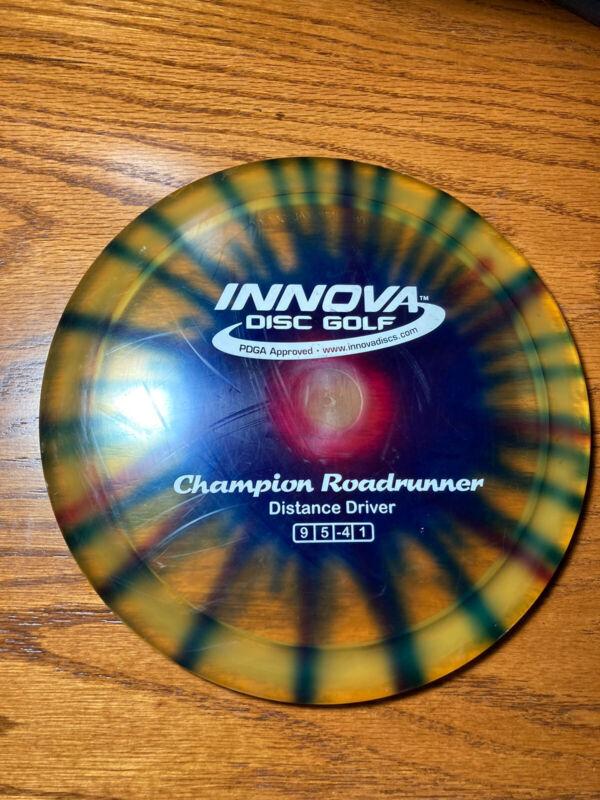 Innova Champion Roadrunner Tie Dye Distance Driver 173 Grams