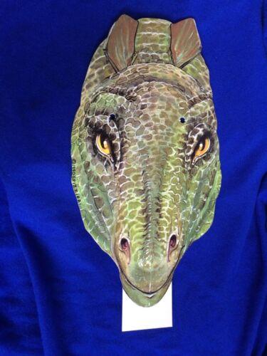 Stegosaurus Dinosaur Cardboard Head Puppet Amoco Texaco Oil Companies