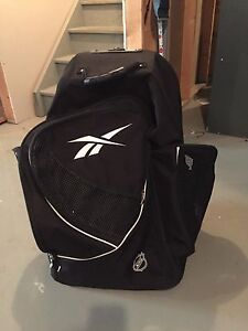 Reebok NHL rolling hockey bag