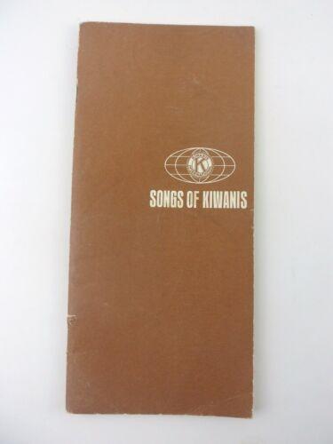 Songs of Kiwanis Songbook 1965 Kiwanis International