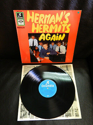 LP  Herman´s Hermits Again Germany Beat 1966  Exellent