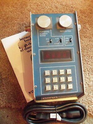 Bird 43 4391 Thruline Watt Meter PEP-Dual Element, Power Analyst