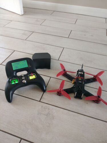 Fpv racing drone with control