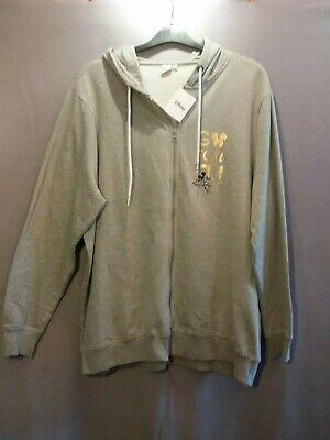 Damen DISNEY SweatShirt-Kaputzen-Jacke in grau MICKEY MOUSE in große Größe 50 (Disney Sweatshirt Damen In)