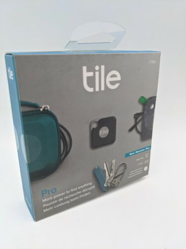 Tile Pro Smart tracker - Bluetooth Key Finder - Black RT-15001 - NEW