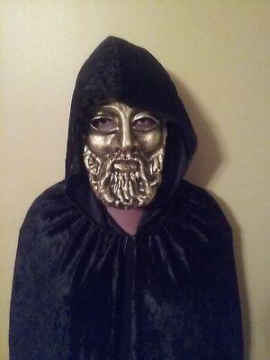 Immortal Masks (Zeus Greek God mask, Renaissance fair mask , Halloween party mask, masquerade)