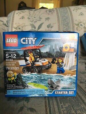 Lego 60163 Coast Guard Starter Set 76 pcs