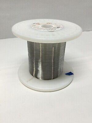 California Fine 01122-08 Drawn Platinum 8 Tungsten Wire 1200ft .0019 Dia 15g