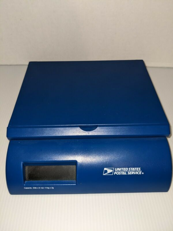 Portable Postal Shipping Scale DS25 Capacity 25 Pounds No Cable Works w/ Battery
