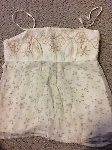 French connection size xs dressy summer top