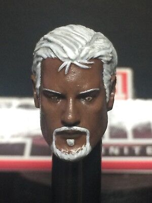 MARVEL LEGENDS PAINTED/FITTED SHIELD AGENT G.W BRIDGE 1:12 HEAD CAST FOR 6 IN