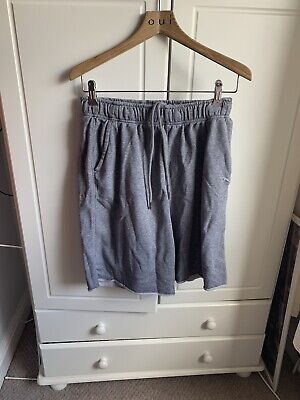 Mens Puma Size M Grey Jogger Shorts