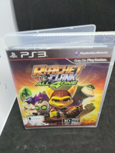 Ratchet Clank All 4 One Sony PlayStation 3, 2011 PS3 - $10.00