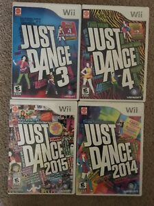 Various Just Dance Titles for Nintendo Wii