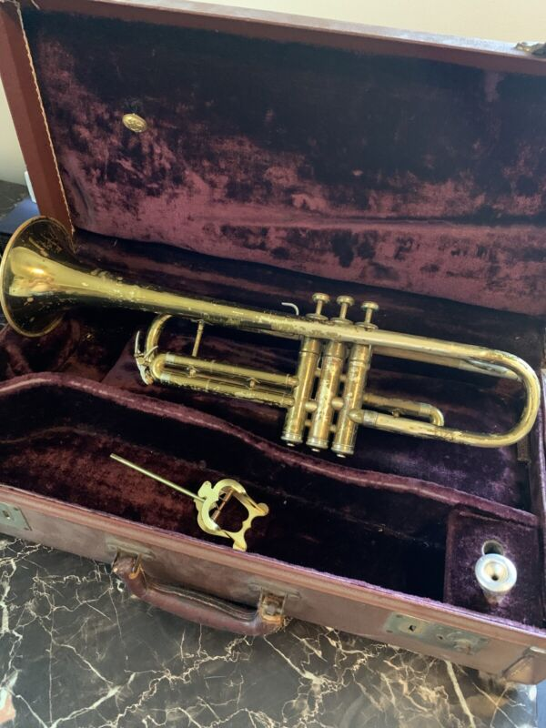 Vintage Trumpet The Martin Imperial Elkhart IND 1955s With Case
