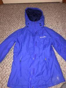 Blue boys Columbia jacket (Youth)