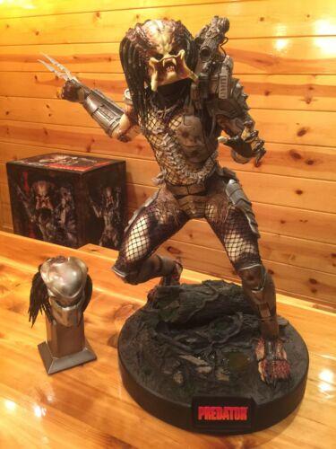 Sideshow EXCLUSIVE Predator Maquette Stan Winston Studios 1/4 Figure 299/300 NEW