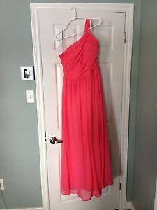 Alfred angelo coral bridesmaid dress