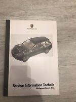 """Porsche Service Information Technik """" Cayenne Modelljahr 2011"""" Baden-Württemberg - Korntal-Münchingen Vorschau"""