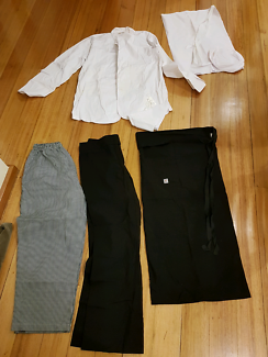 Chef and waiter uniform outfit