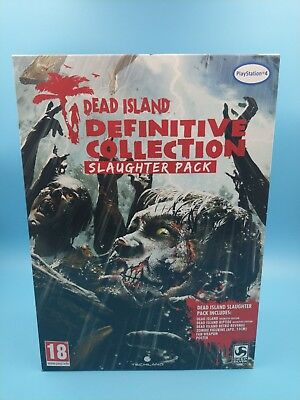 jeu video sony playstation 4 PS4 neuf PAL dead island slaughter pack / USK 18ans