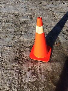 New 28 inch high traffic cones
