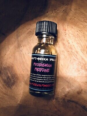 BoogieMan Be Gone Spell Oil - Handmade, Organic, Witchcraft, Hoodoo, Protection