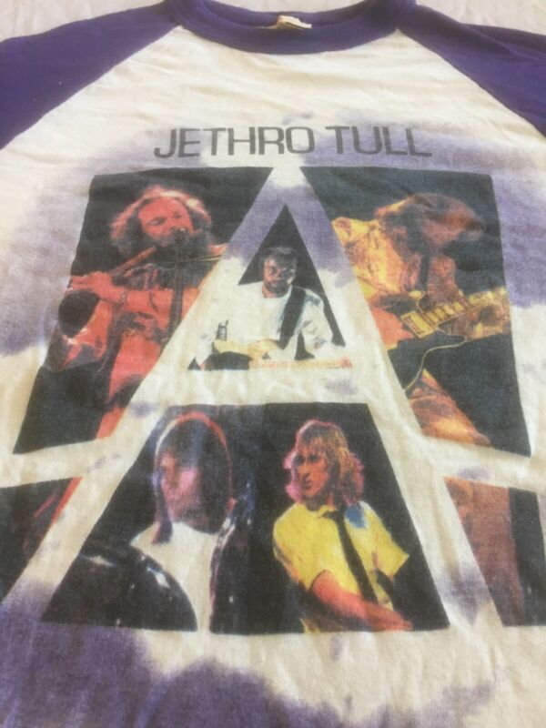 Jethro Tull A 1980 Vintage Concert T-shirt Small