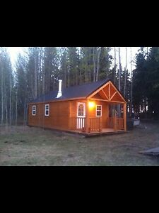 CUSTOM CABIN TO BE MOVED located at s. Buck lake