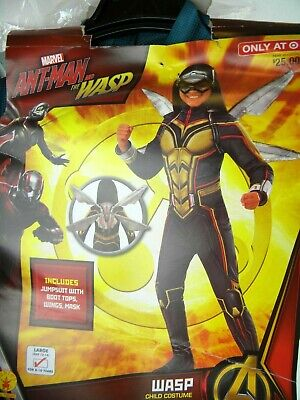 Rubies Marvel Antman & The Wasp 3PC Complete - Wasp Marvel Kostüme